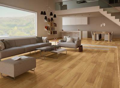 Lưu ý khi chọn sàn gỗ công nghiệp cho phòng khách 1