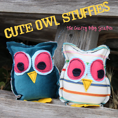 Cute Owl Stuffies by The Crafty Blog Stalker