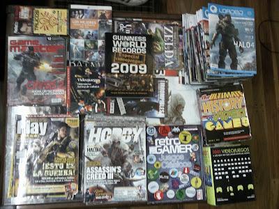 Colección de revistas de Momfus en el 2013