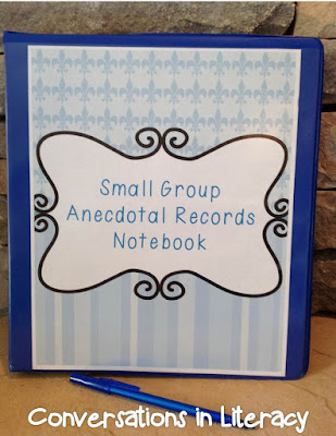 Keeping Anecdotal Records Organized and Using them for Purposeful Planning
