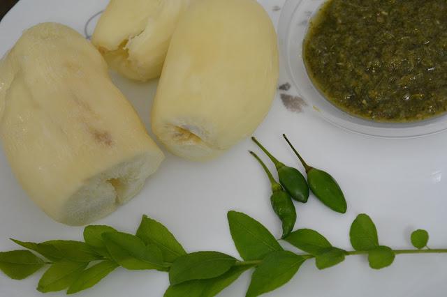 Boiled Tapioca