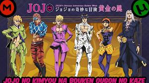 ▷ Descargar JoJo no Kimyou na Bouken Ougon no Kaze ✅ [19/??] [1080HD   720P] [Sub Español] [MEGA-TORRENT]