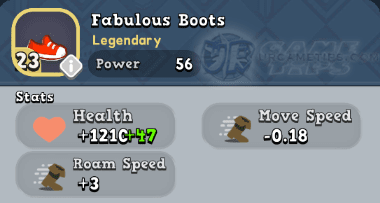 World of Legends Fabulous Boots