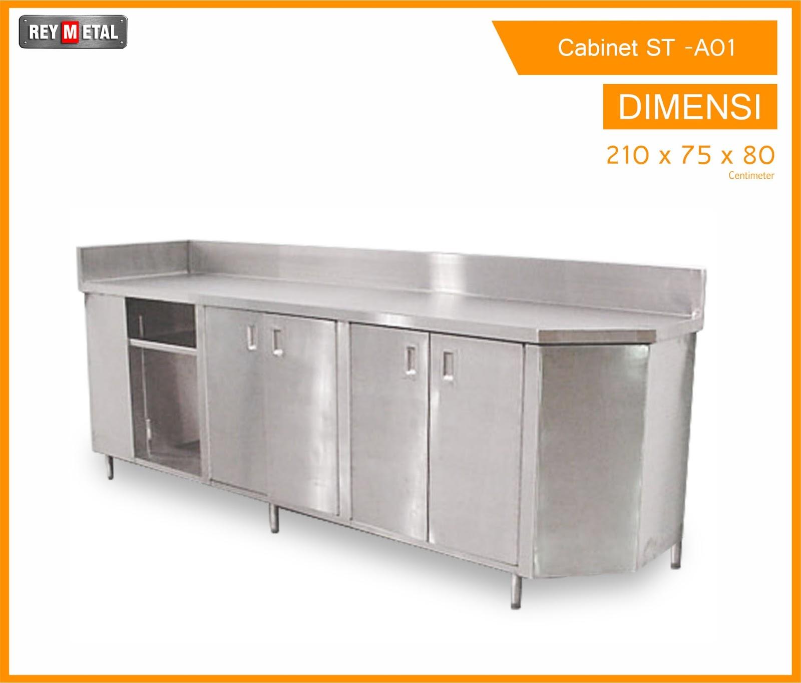 Reymetal com produsen kitchen set stainless no 1 indonesia for Jual kitchen set stainless steel