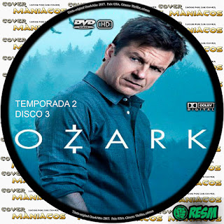 GALLETA 3  [SERIE TV] OZARK - TEMPORADA 2 - [2018] [COVER DVD]