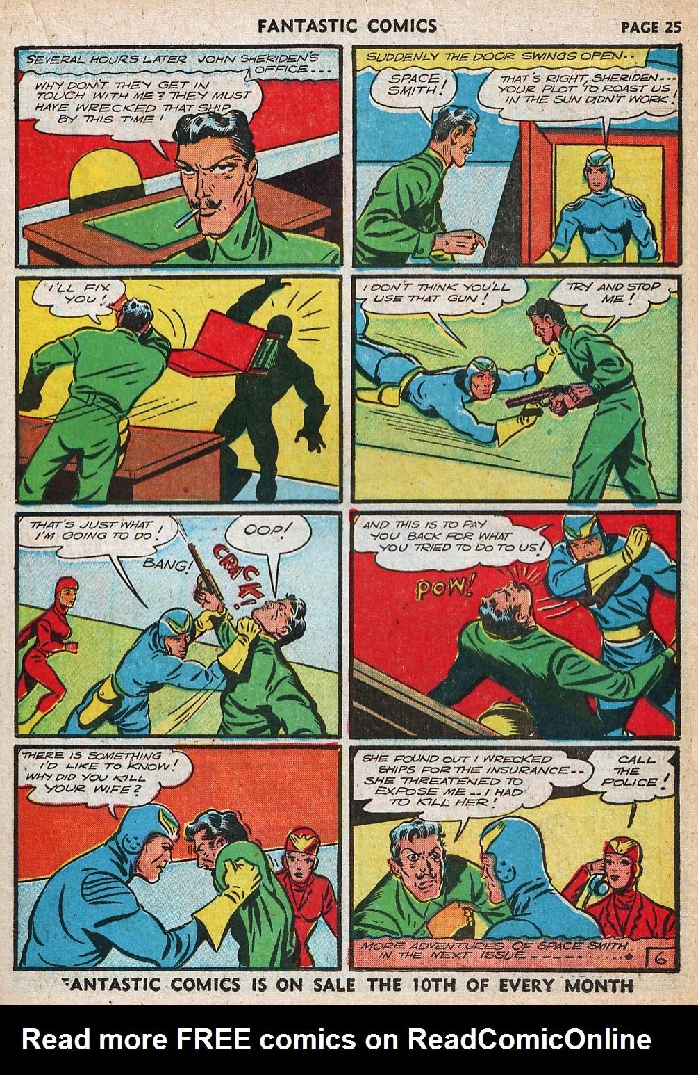 Read online Fantastic Comics comic -  Issue #20 - 26