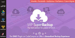 Download Super Backup Clone Migrate for WordPress