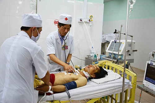 Gia Lai: Bệnh viện 211 cứu sống một bệnh nhân bị đâm xuyên phổi