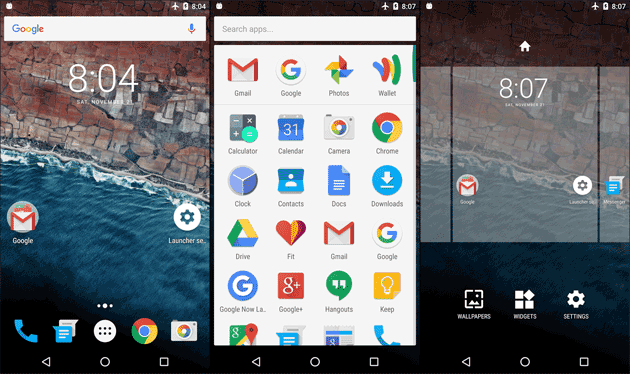 Android Marshmallow Launcher Pro