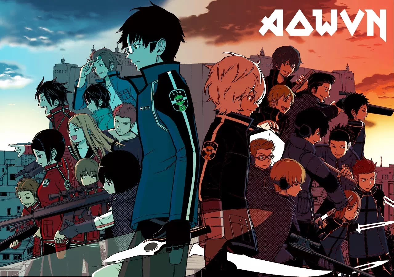 cef72056 - [ Anime 3gp Mp4 ] World Trigger SS1 + SS2 | Vietsub