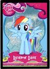 My Little Pony Rainbow Dash Series 1 Trading Card