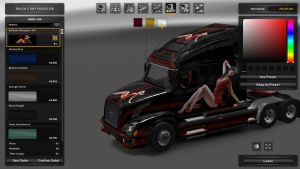 Express Skin for Volvo VNL 670