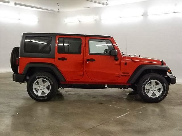 2014 Wrangler Unlimited Sport Copperhead Colors