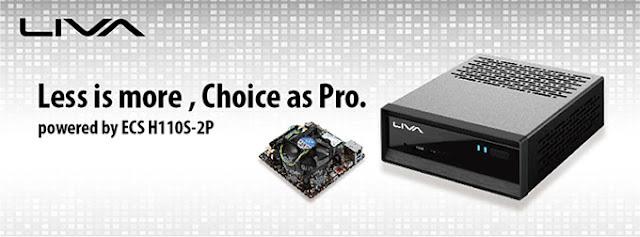 ECS LIVA Pro mini PC | Benteuno.com