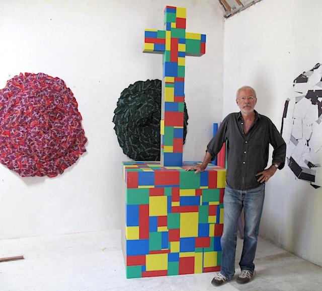 Claude BRIAND-PICARD, artiste invité, Artistes au jardin, C.A.C.T.U.S Quimper 2019
