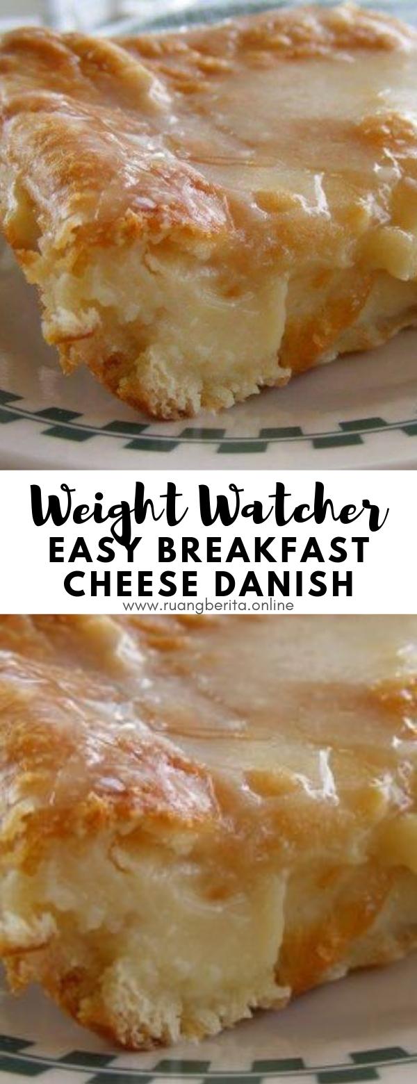 Easy Breakfast Cheese Danish #weightwatcher #easy #breakfast #cheese