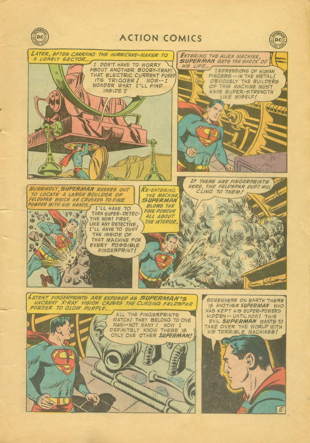 Read online Action Comics (1938) comic -  Issue #216 - 8