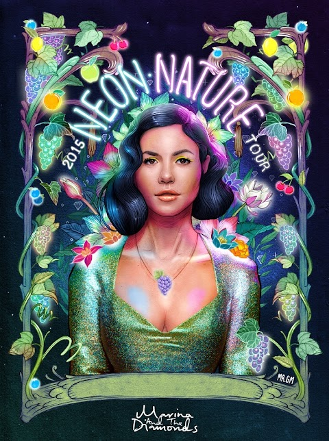 { Marina & the Diamonds - Neon Nature Tour } LOOKBOOK