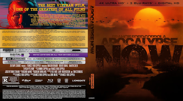 Apocalypse Now 4k UHD Bluray Cover