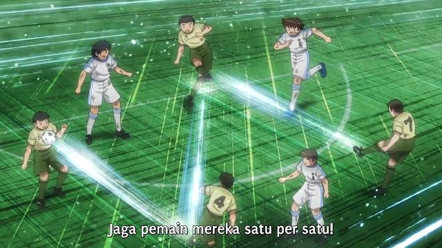 Captain Tsubasa 2018 Episode 11 Subtitle Indonesia