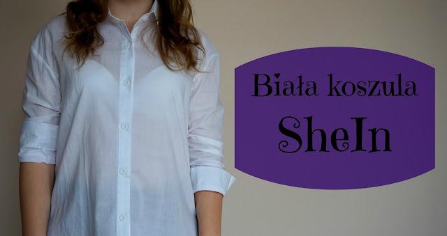 RECENZJA: Biała koszula | SheIn