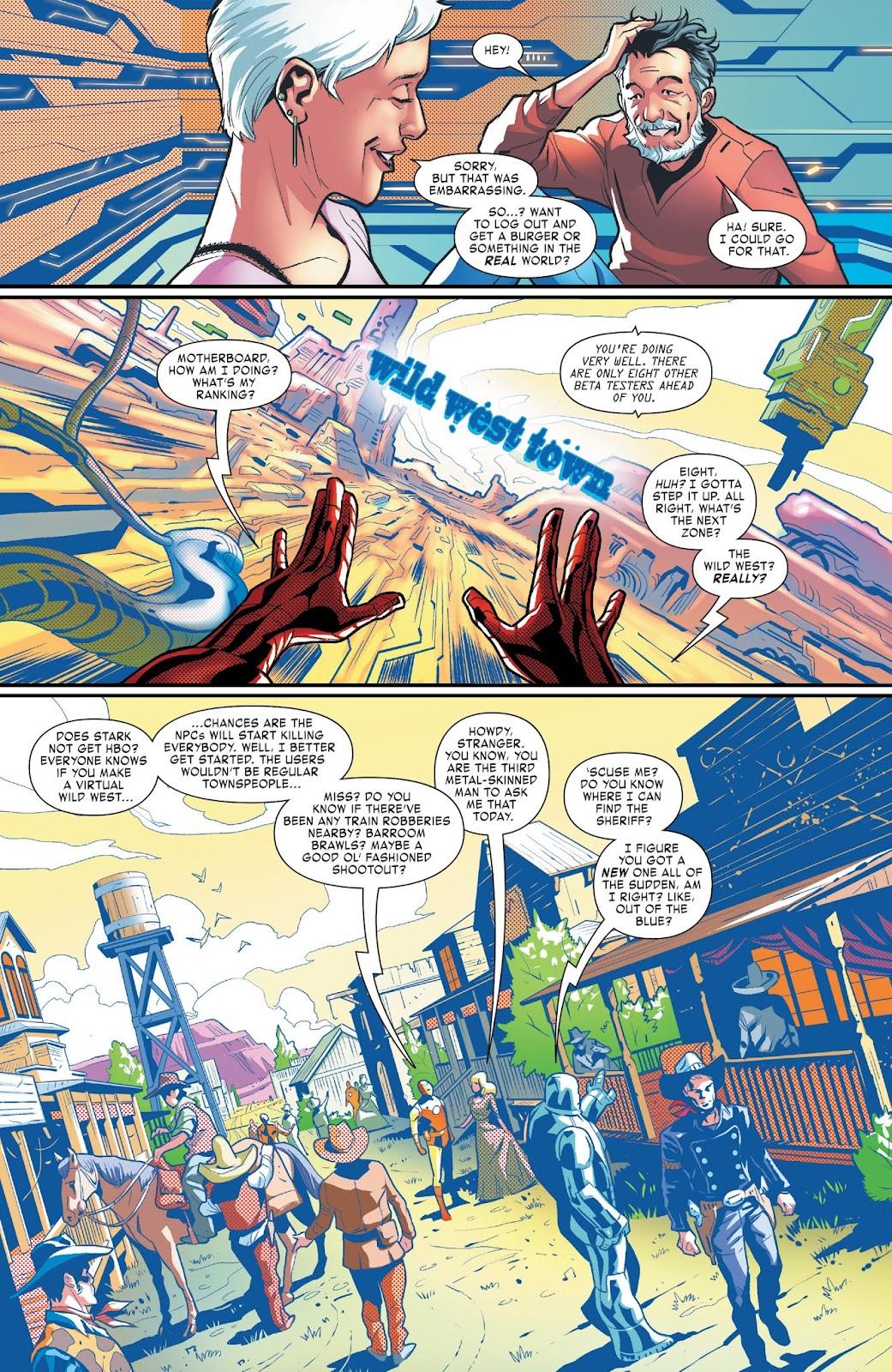 Read online Tony Stark: Iron Man comic -  Issue #3 - 11