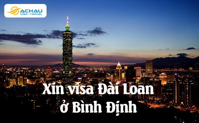 Xin visa Đài Loan ở Bình Định