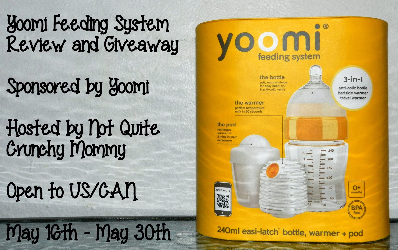 Yoomi Feeding System Review and Giveaway