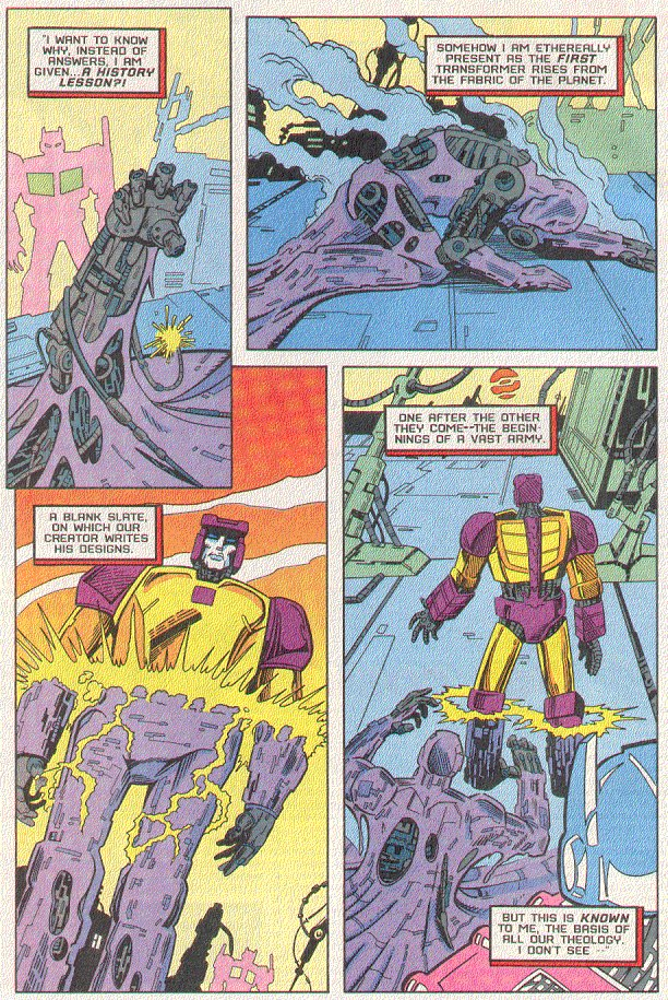 Read online Transformers: Generation 2 comic -  Issue #5 - 8