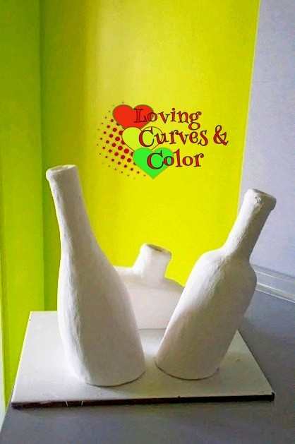 paper-clay-inclined-bottles