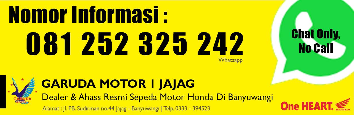 Nomor Informasi Dealer Garuda Motor 1 Jajag