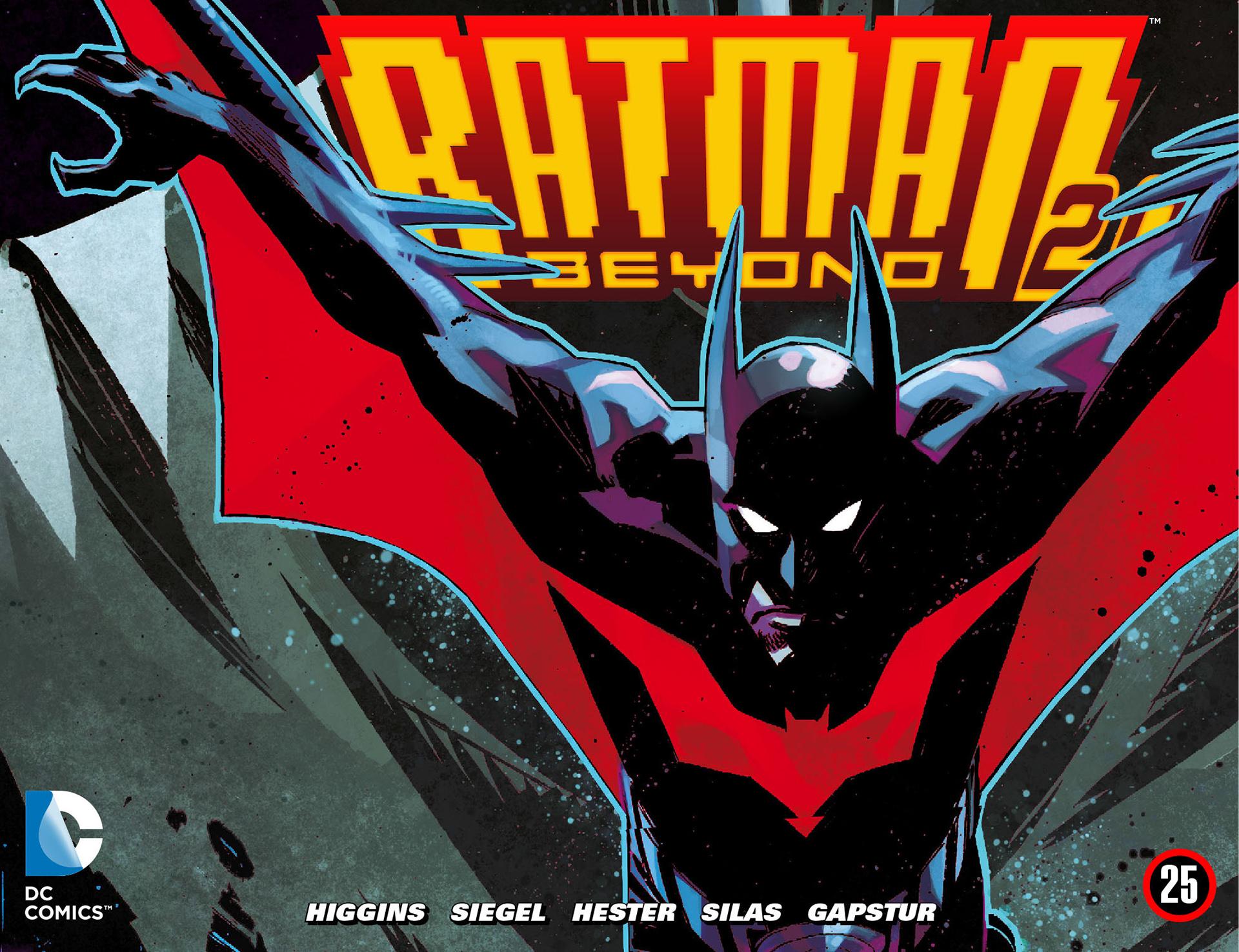 Batman Beyond 2.0 25 Page 1