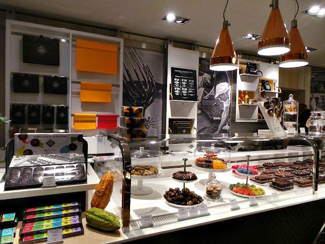 La petite manufacture Michel Cluizel chocolat salon de thé Neuilly