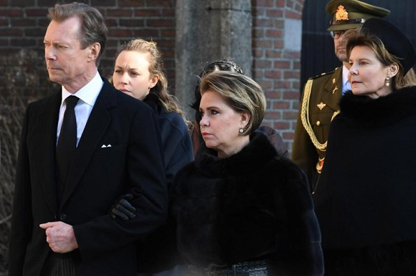 Grand Duke Jean, Grand Duke Henri, Grand Duchess Maria Teresa, Princess Margaretha and Prince Laurent