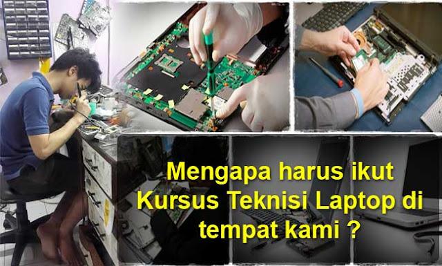 kursus teknisi laptop murah, biaya kursus reparasi laptop, cari kursus laptop termurah