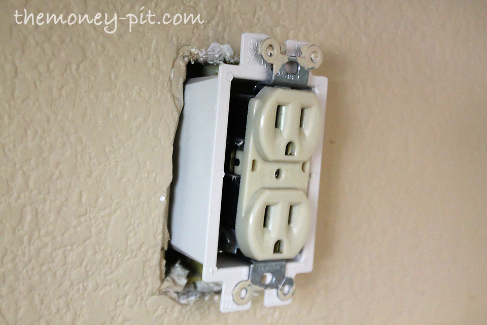 Wall outlet box extender free engine image for user