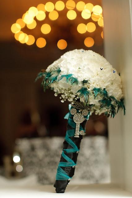 At Home Disney Wedding - Mickey Bridal Bouquet