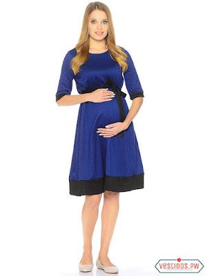 vestidos para embarazadas midi