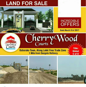 PLOTS OF LAND FOR SALE @ CHERRYWOOD COURTS, LEKKI