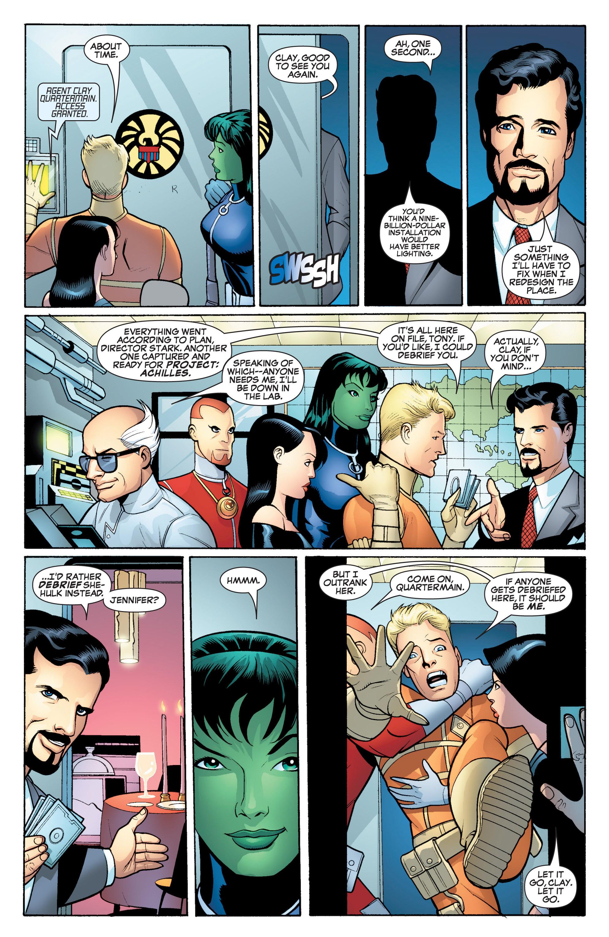 Read online She-Hulk (2005) comic -  Issue #17 - 6