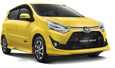 Toyota Agya (127 juta - 153 juta)