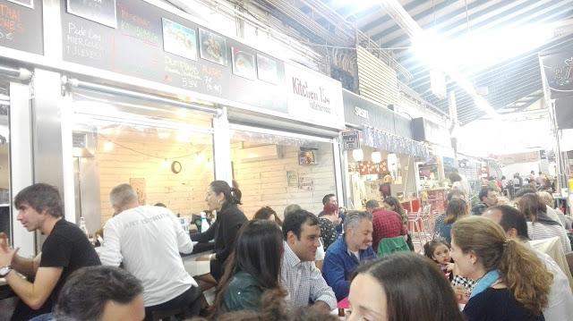 Kitchen 154 de mercado de Vallehermoso, Tusolovive Madrid
