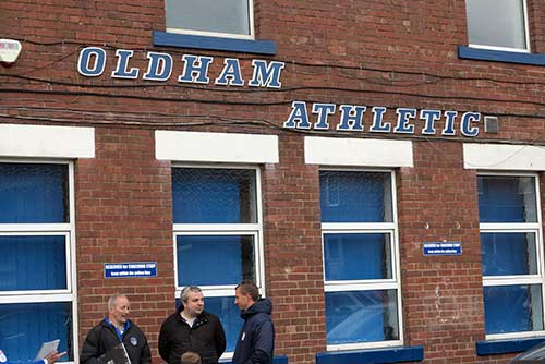 Oldham Athletic 0 v Wigan Athletic 2, August 19, 2017.