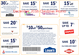 Home Depot coupons december