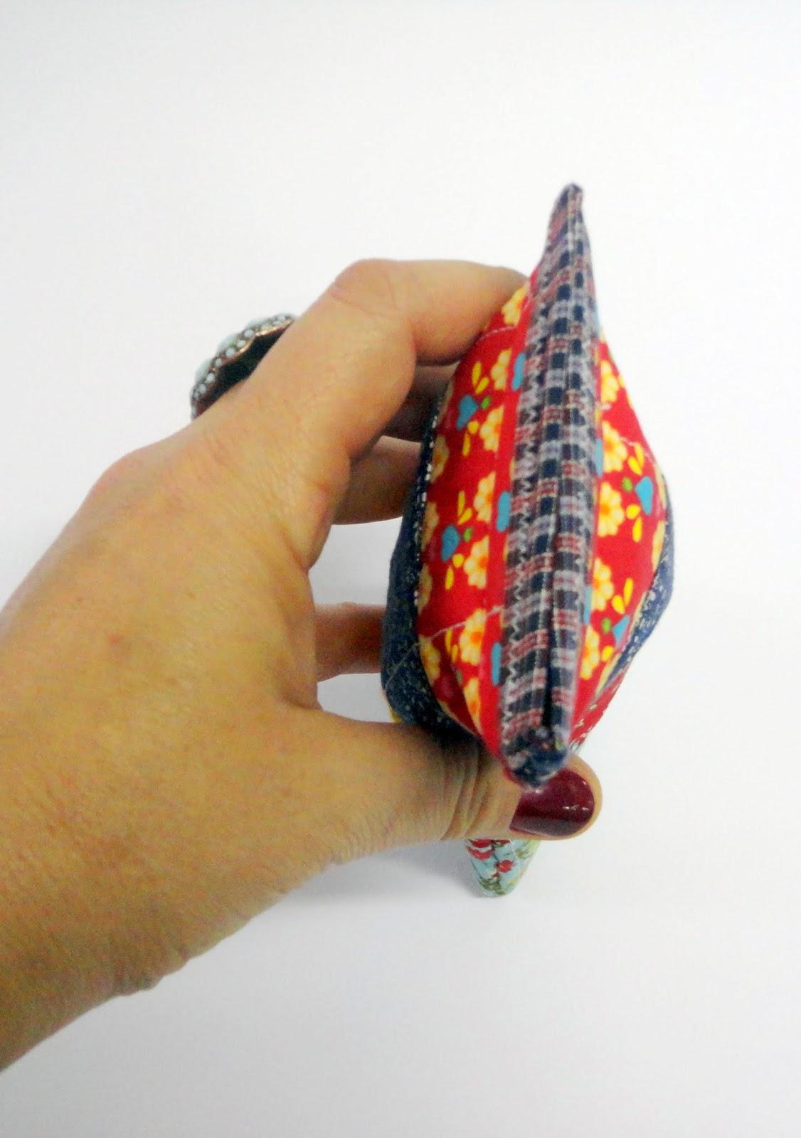 Dandolinhas porta culos de patchwork for Porta oculos