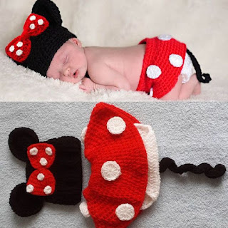 Collection of Crochet Clothes for Newborn Babies