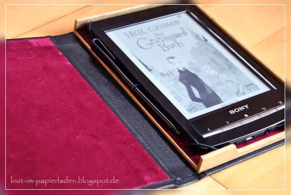 tasche ebook reader nähen