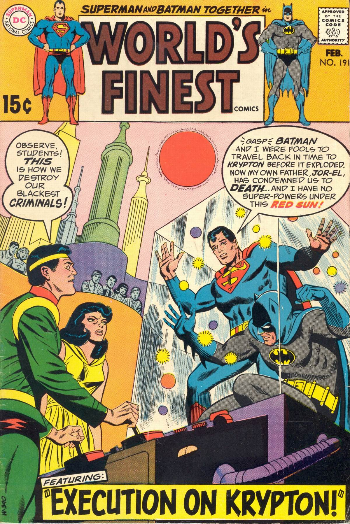 Read online World's Finest Comics comic -  Issue #191 - 1