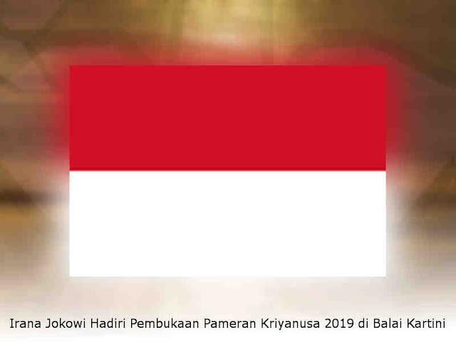 Irana Jokowi Hadiri Pembukaan Pameran Kriyanusa 2019 di Balai Kartini