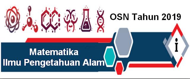 Soal latihan Olimpiade Sains Nasional Tahun  Soal latihan Olimpiade Sains Nasional Tahun 2019